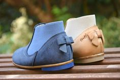73f2bb760 Handmade Emel shoes - chelsea boots for mini - children shoes - thomas heel  - leather