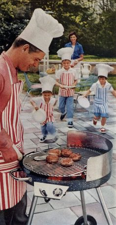 BBQ all summer long getting the family included!
