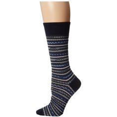 Missoni CA00CMU4659 Women's Crew Cut Socks Shoes, Navy ($15) ❤ liked on Polyvore featuring shoes, navy, socks, navy shoes, missoni shoes, navy blue shoes, missoni and cotton shoes