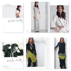 Nicola Waite Website and Lookbook Design