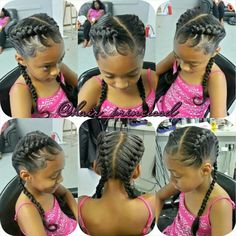 I would get my daughter's hair like this