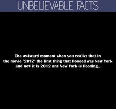 Unbelievable facts about 2012