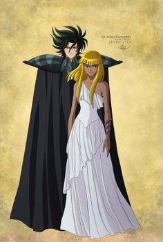 Titan et Pallas (Saint Seiya Omega)