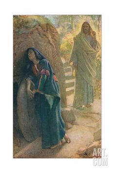 Mary Magdalene, Illustration from 'Women of the Bible', Published by the Religious Tract Society,… Giclee Print by Harold Copping at Art.com
