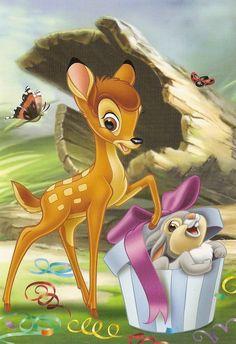 Cute Disney, Disney Art, Walt Disney, Bambi 1942, All Things Cute, Disney Characters, Fictional Characters, Disney Princess, Diamond