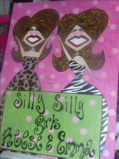 Whimsical Women Art | Houston, TX | SillySillyGirls.com