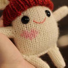 A Little Kindness Monster Knitting pattern by Rachel Borello Carroll