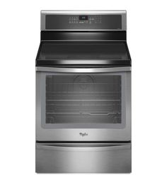 """Whirlpool WFI910H0AS 30"""" Gold® Series 6.2 Cu. Ft. Induction Range with TimeSavor Stainless Steel Ranges Free Standing Electric"""