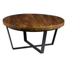 Shop for Kosas Home Kosas Kinda Reclaimed Wood Round Coffee Table. Get free shipping at Overstock.com - Your Online Furniture Outlet Store! Get 5% in rewards with Club O!