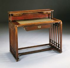 BENTWOOD DESK  JOSEF HOFFMANN, ATTRIBUTED, FOR J. & J. KOHN, CIRCA 1905