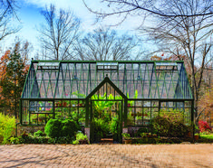 A Victorian Manor glasshouse by Hartley Botanic, in Forest Green. Built in Charlottesville, USA.