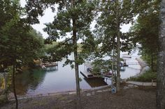 """Think you could """"rough it"""" lakeside in this vacation home? A few years ago AK…"""