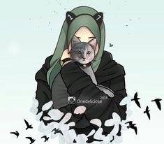 53 Ideas Drawing Cartoon Girl Pictures For 2019 Cartoon Kunst, Cartoon Drawings, Cartoon Art, Drawing Anime Hands, Hijab Drawing, Tmblr Girl, Islamic Cartoon, Hijab Cartoon, Islamic Girl