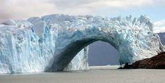 Glaciar moreno trepando la peninsula