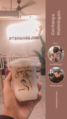 Instagram Feed Tips, Creative Instagram Stories, Instagram Story Ideas, Coffee Milk, Milk Tea, Iced Coffee, Polaroid Frame, Reminder Quotes, Lightroom Tutorial