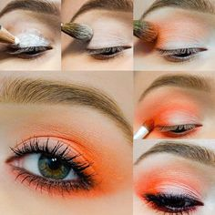 Hello, my cute fluffy kittens! Today I offer you a large set of makeup tutos, which I have been diligently collecting all the months since I created this post. Step by step eye mak How To Do Eyeshadow, Eyeshadow Tips, Blending Eyeshadow, Eyeshadows, Makeup For Green Eyes, Blue Eye Makeup, Urban Decay Makeup, Cute Fluffy Kittens, Eye Makeup Pictures