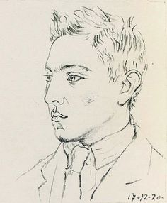 Raymond Radiguet (born 18 June, 1903; died 12 December, 1923), pictured above in a 1920 lithograph by Pablo Picasso (1881-1973)  'We lived at F., on the banks of the Marne.My parents disapproved of friendships between the sexes. But our sensuality, which is born with us, though for a time it remains dormant, was aroused rather than quelled by their disapproval.I have never been a dreamer. What appears dream to others more credulous than I seems to me to be as real as cheese to a cat—in…