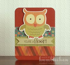Humblechan: You're a Hoot Card