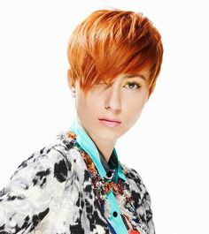 Trendy Short Red Hair