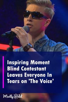Inspiring Moment Blind Contestant Leaves Judges Soaked In Tears on 'The Voice' Got Talent Videos, Britain's Got Talent, Talent Show, The Voice Videos, Music Videos, Emotional Songs, Good Music, Amazing Music, Entertainment
