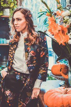 erdem x hm collection floral coat