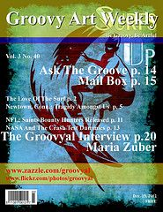 Groovy Art Weekly Vol. 3 No.40. All the news that is news in the destruction of Eden.