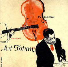 Art Tatum Trio album cover by David Stone Martin by crackdog, via Flickr