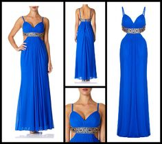 Stunning blue mesh maxi dress with cut out side detail and contrast embellished waistband. Wear it with vertiginous heels or super flat sandals to look perfect. #MaxiDresses  http://www.boudifashion.com/ladies/departments/designer-dresses/forever-unique-kirsty-blue-maxi-dress.html  #BoudiFashion #ForeverUnique #MaxiDress #DesignerFashion #Celebs #Style #Shopping #Blue #Style #clebes #Shop #UK #BoudiBondStreet #LoveFashion #DesignerClothing #Summer