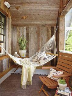 Hängematte Auf Dem Balkon   Urlaub Zu Hause!   Archzine.net
