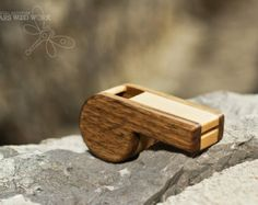 real wooden whistle - wood whistle - wooden toy