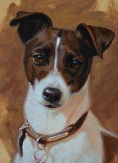 DOG ARTIST - JACK RUSSELL SMOOTH - Hazel Morgan