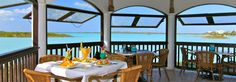 Las Brisas Restaurant - Neptune Villas Turks and Caicos, Las Brisas Restaurant and Bar - Turks and Caicos Islands Wine List, Turks And Caicos, Caribbean, Gazebo, Restaurant, Patio, Island, Bar, Villas