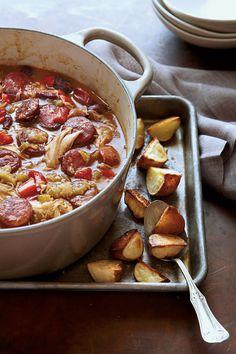 Mardi Gras Recipes: Chicken-Andouille Gumbo