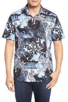 'Moapa Valley' Classic Fit Short Sleeve Sport Shirt