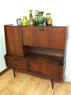 Vintage kast cabinet dressoir servieskast