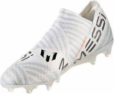 huge selection of 6f63f d53b2 adidas Nemeziz Messi 17 360Agility FG – White Solar Orange Clear Grey.  Messi Soccer ShoesMessi ...