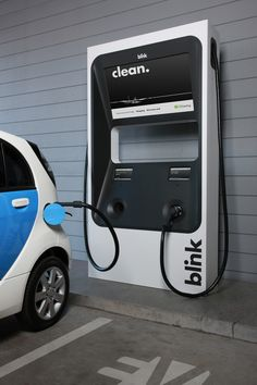 Ecotality offering free electric car charging stations: is your city includ Ev Charger, Electric Car Charger, Electric Cars, Electric Vehicle, Electric Charging Stations, Car Charging Stations, Electric Station, Dirt Bike Girl, Girl Motorcycle