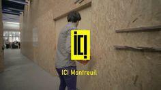 #EspacedeCoworking ICI Montreuil est le plus grand espace de coworking de France, cet espace abrite 1700 m2 d'espace de travail. Regardez !