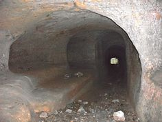 Cave Tunnel Nottingham Caves, Sand Pit, Catacombs, Bury, Cemetery, Weird, Collections, Rock, Life