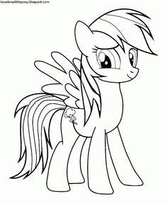 My Little Pony: Para colorear