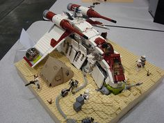 crashed republic gunship | Flickr – Condivisione di foto!