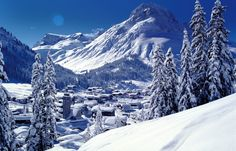 Lech am Arlberg – an exclusive winter ski resort of infinite style and sophistication in the Austrian Alps Places To Travel, Travel Destinations, Places To Visit, Best Ski Resorts, Ski Season, Ski Holidays, Lake George, Beautiful Places In The World, Mountain View