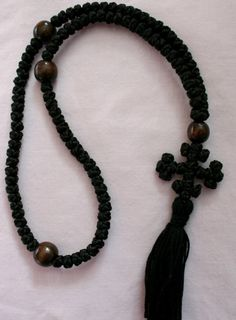The Chotki or Komboskini is the dominant prayer bead practice of the Eastern Orthodox Church. Once primarily used by monks and nuns, this beautiful