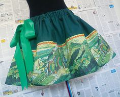 The Hobbit The Shire Hobbit Clothes Hobbit Girl Skirt by RoobyLane, £40.00