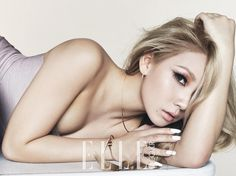 CL of 2NE1 for Elle October 2014