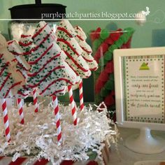 """""""Elf"""" Movie Themed Christmas Party, maybe do a different Christmas movie theme each year!"""