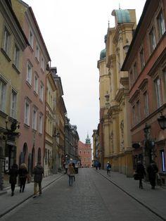 Varšava - Ulica u starom gradu Street View, Travel, Viajes, Trips, Tourism, Traveling