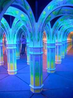 Could be really cool to do something clever with lighting and mirrors    Magowan;s infinite mirror maze