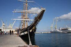 Un pomeriggio a bordo della nave scuola Palinuro