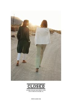 Rachel Poulliat and Jessica Joffe for Closed